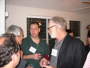 Photo: PROFESSORS DAVID BRAINARD AND GEOFF IVERSON
