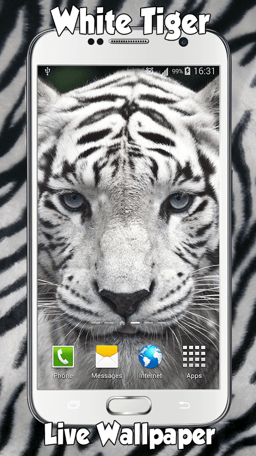 white tiger live wallpaper android apps on google play
