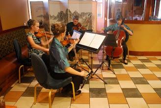 Photo: AYP Waterfront Quartet (Katelyn Lyons, violin; Jessica Lyons, violin; Michael Sinni, viola; Julia Henderson, cello)