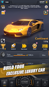 Idle Assemble Car MOD (Unlimited Diamonds) 3