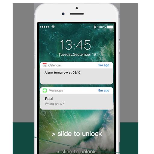 OS Lockscreen Phone7 - Notification