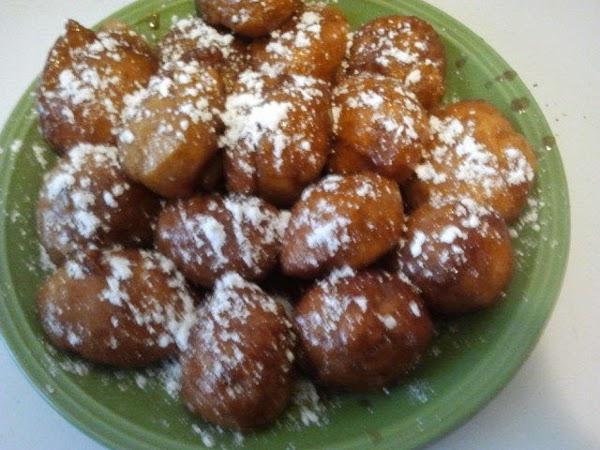 Arrange momma sweet biscuits on a platter and set up for your presentation, sprinkle...