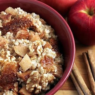 Slow Cooker, Apple Cinnamon Steel-Cut Oatmeal