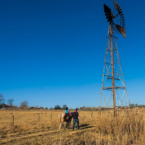 My sisters stables by Eric Klein - Landscapes Prairies, Meadows & Fields (  )
