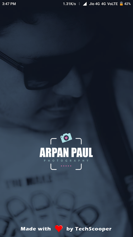 Arpan Paul Photography- screenshot