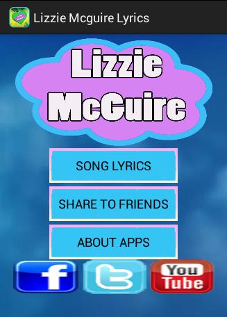Top Lizzie Mcguire Lyrics