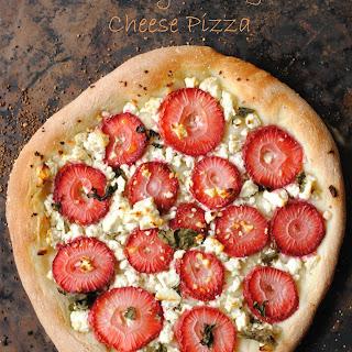 Strawberry Basil & Feta Cheese Pizza Recipe