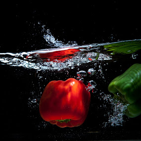 peppers by Anco Pretorius - Food & Drink Fruits & Vegetables