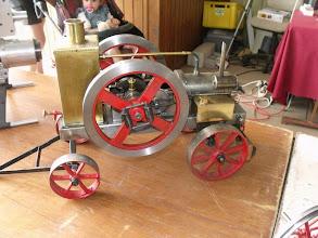 Photo: Un moteur thermique de ferme