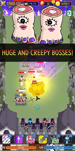 NINJA SHURIKEN - Legend Defense screenshot 2
