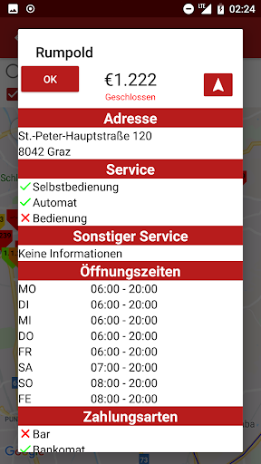 Gas Stations and prices Austria  screenshots 3