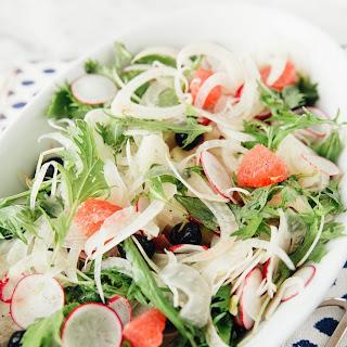 Pummelo, Fennel, and Radish Salad