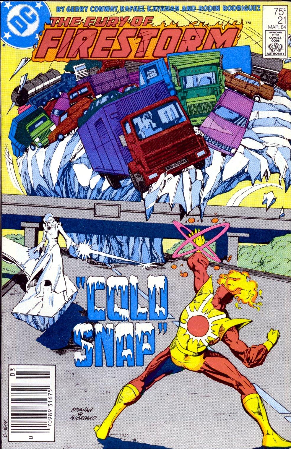 Killer Frost | CBSI Comics