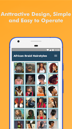 500+ Top African Braids Hairstyles Fashion Offline 5.0 screenshots 2