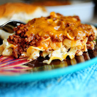 Ground Turkey and Noodle Bake