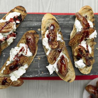Baked Fig Crostini.