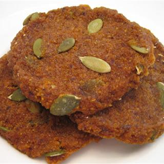Raw Butternut Squash Cookies.