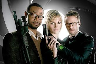 Photo: Jane Bond 008 Series (w/ Isaiah Mustafa, Alison Haislip, and +Chris Hardwick)  by +Elevendy