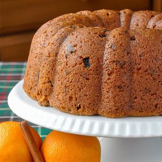 Orange Brandy Fruitcake Recipe