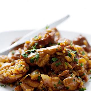 Chicken and Sausage Risotta