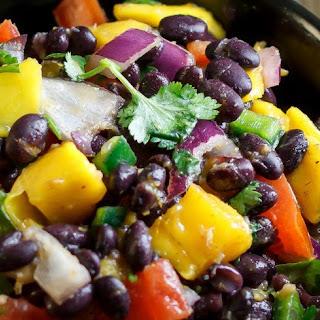 Easy Mango Black Bean Salsa