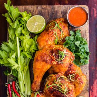 Sriracha Buffalo Chicken Legs