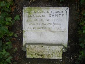 Photo: Historical marker on the mound where the bones were hidden