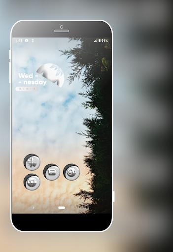 Download Grayish White Icons Pack MOD APK 5