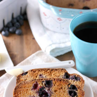 Blueberry English Muffin Bread.