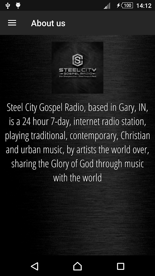 Steel City Gospel Radio- screenshot