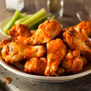 Spicy Honey Chipotle Chicken Wings.