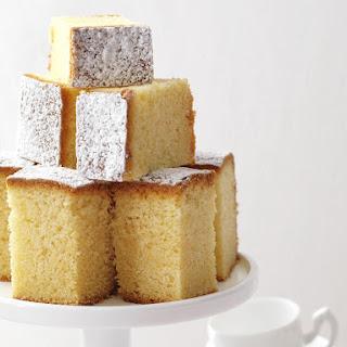 Moist Butter Cake.