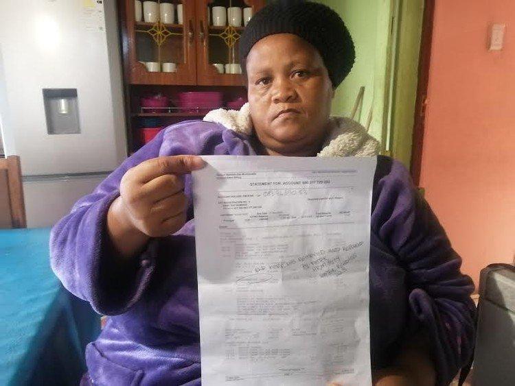 Port Elizabeth residents punished for municipal water bills mix-up