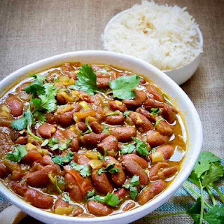Instant Pot Vegan Rajma Red Kidney Beans.