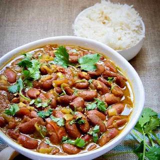 Instant Pot Vegan Rajma Red Kidney Beans.