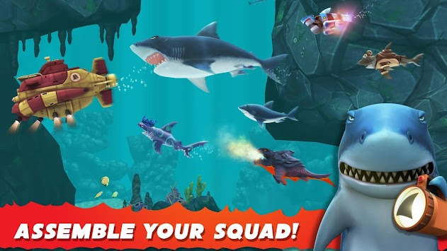 Hungry Shark Evolution APK screenshot thumbnail 5