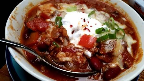 ~ Simple Game Day Chili ~ Cassie's Way! Recipe