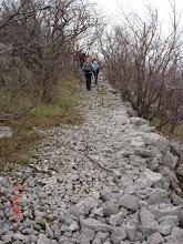 Photo: kamenom mulaterijom do vrha Matusajne