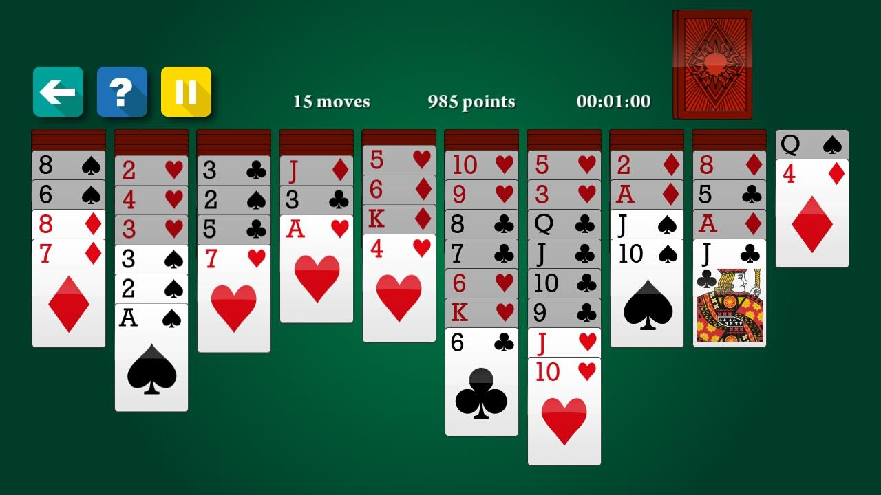 Google Spider Solitaire