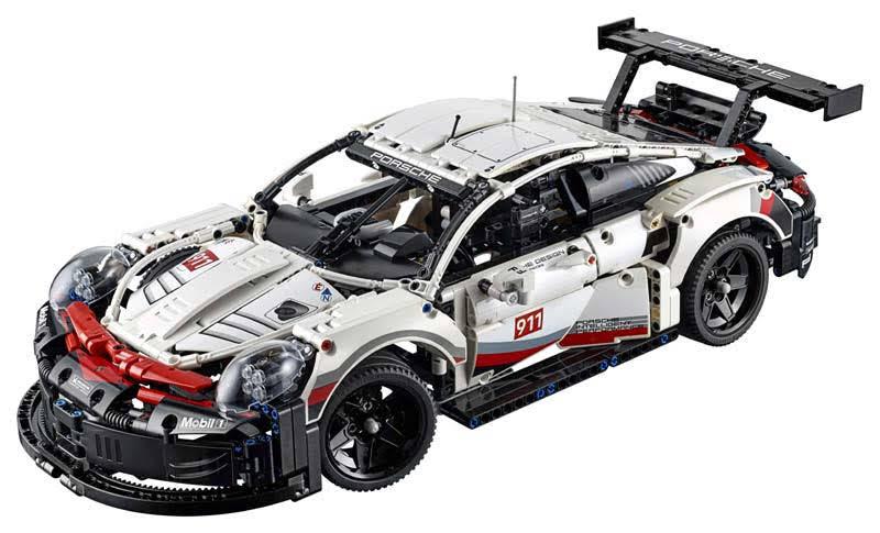 Contenido de Lego® 42096 Porsche 911 RSR