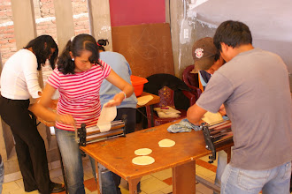Photo: Making pasteles