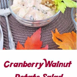 Cranberry Walnut Potato Salad #SundaySupper.