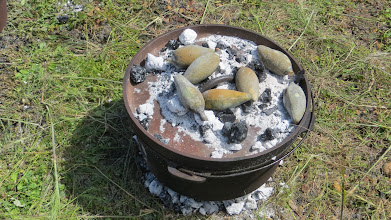 """Photo: Roasting these """"tree nuts"""" :-)"""