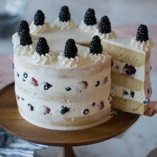 Honey Mascarpone Cake.