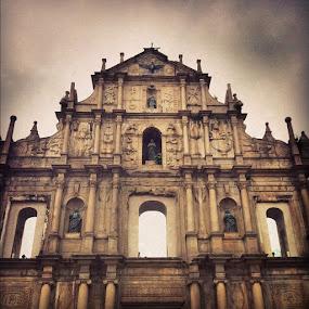 Scary Macau by Conor MacNeill - Instagram & Mobile Instagram
