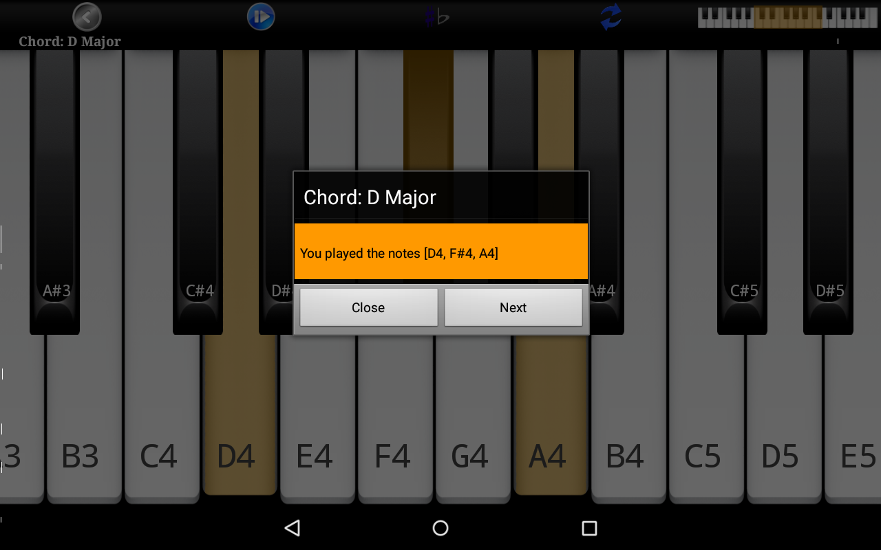 Piano scales chords pro android apps on google play piano scales chords pro screenshot hexwebz Images