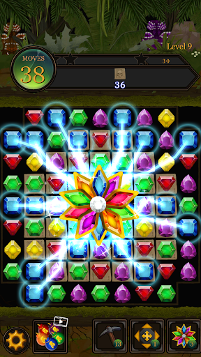 Secret Jungle Pop : Match 3 Jewels Puzzle 1.4.0 screenshots 1