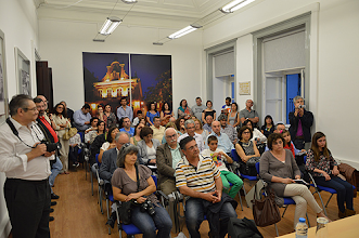 Photo: A sessão foi um sucesso, com sala completamente esgotada