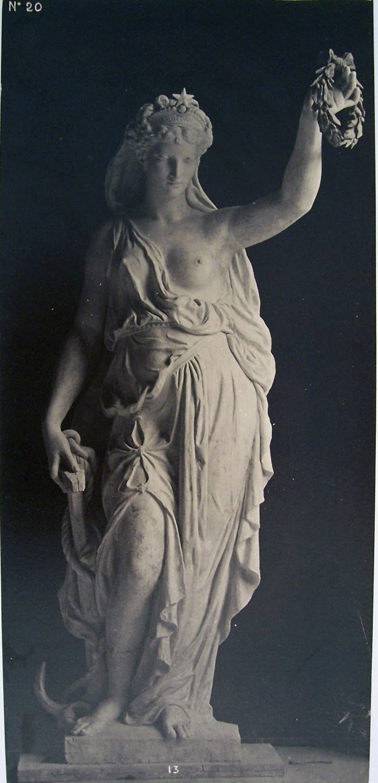 Louis-Emile Durandelle, Le Nouvel Opera de Paris, Statues Decoratives, Espérance (par Léon Bruyer), 1875