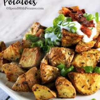 Simple Oven Roasted Potatoes.